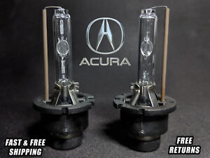 OE HID Headlight Bulb For Acura TL 2004-2008 High & Low Beam Stock Fit Qty2