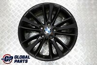 "BMW E81 E82 E87 E88 Black Front Alloy Wheel Rim 18"" 7,5J ET:49 W-Spoke 263"