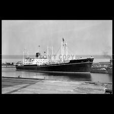 Photo B.004073 GANGE MESSAGERIES MARITIMES 1959 FRENCH CARGO SHIP