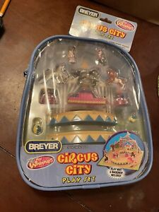 NOS 2007 Breyer Mini Whinnies Circus City Play Set In Pouch #300130 UNOPENED
