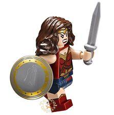 LEGO SUPER HEROES DC COMICS MINIFIGURA WONDER WOMAN 76046 76087 ORIGINAL MINIFIG