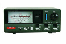 AVAIR AV-400 140 525 MHz VSWR POWER METER SWR VHF UHF AV 400