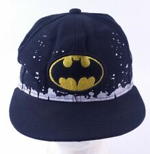 Batman Embroidered Youth Size Snapback Hat Black