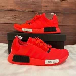 Adidas NMD R1 Serial Pack Solar Red Men's Athletic Running Sneakers EF4267