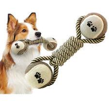 Juguete Perro para Morder de Perro Algodón Cuerda Nudo Bola Rechinar Dientes