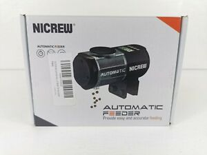 Nicrew Automatic Feeder Fish Tank 4 Times A Day  Never Used