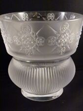 """Lalique 10259200 Rialto Vase 4.75"""" Tall Crystal New  Box & Papers $875"""