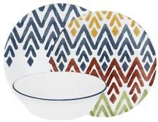 Corelle Vive Zamba 12 Pieces Dinner Lunch Bowl Set