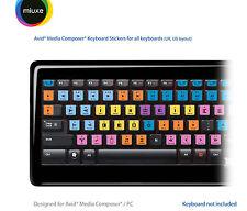 Avid Media Composer Autocollants | tous les claviers | qwerty uk, us