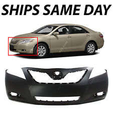 New Primered - Front Bumper Cover Replacement 2007-2009 Toyota Camry and Hybrid