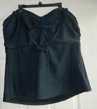 Old Navy Women/'s Ebony Stripe Smooth /& Slim Wrap Front Plus Swim Suit 3X NWT