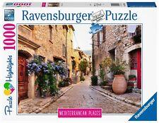RAVENSBURGER PUZZLE*1000 TEILE*MEDITERRANEAN PLACES*FRANCE*RARITÄT*OVP