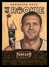 2014-15 Panini Threads #333 WOOD Bojan Bogdanovic RC Rookie Brooklyn Nets