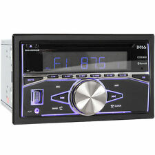 Boss 660BRGB Double DIN Bluetooth In-Dash CD/AM/FM Car Stereo Receiver