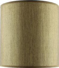 Golden Beige Fabric Drum Shade Small 20cm