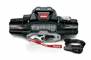 Warn WARN ZEON 12-S WINCH: 12000 LB Cap 80 Ft Synthe Rope 95950