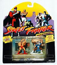 Street Fighter Zangief vs. Chun Li Xiang 2-Pack Official Movie Fighters 1994 MOC
