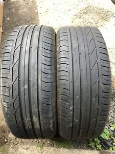 225 55 17 97W Bridgestone Turanza T001 Tyres X 2 5mm