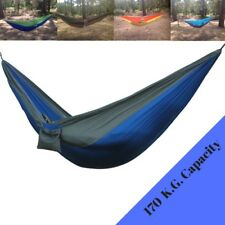 The Ultimate Garden Camping Hammock, , Strong Nylon Parachute Swing Bed