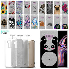 """For Samsung Galaxy Note 9 N960 6.4"""" Sparkling Silver TPU Silicone Case Cover"""