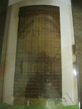"""STYLE SELECTIONS, ROMAN SHADE ~ 'JAKARTA', COCOA FINISH, 23"""" X 72"""", #033755, NEW"""