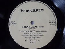 "VEIRA KREW ~ SEXY LADY ~ RARE 1985 UK 12"" FUNK/SOUL VINYL SINGLE ~ GREAT AUDIO"