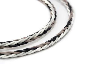 KnuKonceptz Krux Interlaced Braid 3D Copper 12 Gauge Speaker Wire Bi-Wire Cable