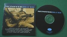 Monster Blues BB King Etta James Taj Mahal Junior Wells Boz Scaggs + CD
