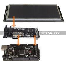 "SainSmart Mega2560 R3 + 7"" Inch TFT LCD Shield + TFT LCD Shield For Arduino"
