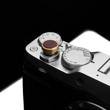 Gariz Soft Release Button XA-SBLBR for Fujifilm Fuji Leica Nikon Pentax Brown