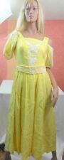 Wadenlange nur handwäschegeeignete Damen-Trachtenkleider & -Dirndl mit Kurzarm