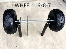 Huffy Slider Drift Trike Go Kart 25mm Complete Solid Axle wheels 16x8-7