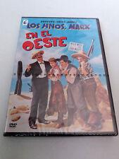 """DVD """"LOS HERMANOS MARX EN EL OESTE"""" PRECINTADO SEALED GROUCHO CHICO HARPO"""