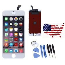 LCD Lens Digitizer Touch Screen Display Replacement for iPhone 6 White + 8 Tools