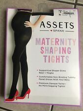 ASSETS by SPANX MATERNITY SHAPING TIGHTS BLACK SIZE 4