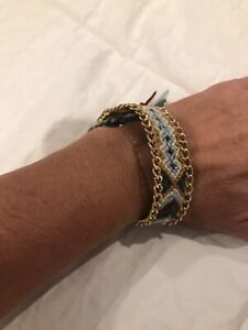 Lot of 2 Boho Braided Multi Color Friendship Bracelets, Shipped from USA