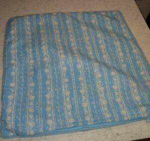 RESTORATION HARDWARE Perennials 20x20 Outdoor Corsica Aqua Blue Pillow Cover EUC