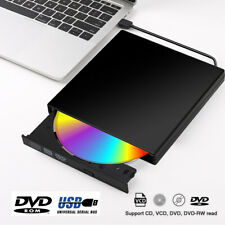 Ultra Slim Usb 2.0 External Dvd Rom Cd-Rw Recorder Combo Drive For Laptop Pc Us