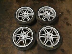 "Smart Roadster Brabus Alloy Wheels Monoblocks 17"""