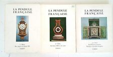 Tardy La Pendule Francaise I 2 3 Partie Des Orignes au Louis XV XVI Les Province