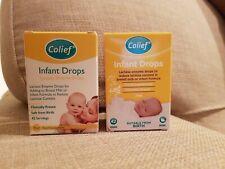 NUOVO colief NEONATO GOCCE 7ml X2 lattasi enzimi coliche bambino 42 porzioni naturale