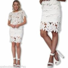 Lace Straight, Pencil Knee-Length Skirts for Women