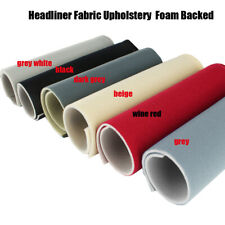 8Styles Headlining Fabric Foam Attached Repair&Replace/Recover/Renew Roof Liner