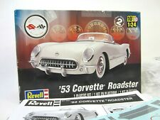 Revell 1953 Corvette Roadster Chevrolet 1:25 Scale Model Kit 85-4057 NOB!