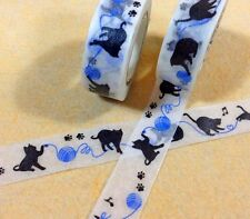 ruban adhésif CHATS & LAINE paper masking washi TAPE embellissement scrapbooking