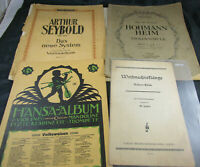 Noten Notenhefte für Violine Geige Streichinstrument Seybold Hohmann-Heim Hansa