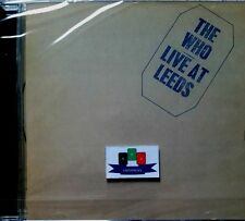 The Who - Live At Leeds CD 1995 New And Sealed