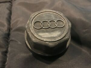 OEM Audi Coupe GT Quattro B2 5000 black wheel rim center cap hubcap center hub