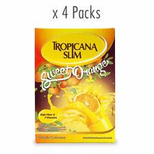 [TROPICANA SLIM] Sweet Orange Sugar Free Low Calorie Drink Powder 40x6g