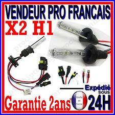 2 AMPOULE AU XENON H1 8000k 35W 55W POUR KIT HID 12V LAMPE FEU PHARE DE RECHANGE